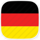 flag DE Germany 128