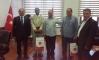 Libya Başbakanı Eğitim Müşaviri ve Heyetinden Rektörümüzü Ziyaret