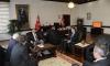 Ağlı Kaymakamı Şen, Belediye Başkanı Çolak ve Meclis Üyeleri Rektörümüz Aydın'ı Ziyaret Etti