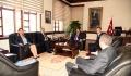 Ziraat Bankası Zonguldak Bölgesi Başkanı'ndan Rektörümüze Ziyaret