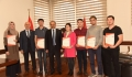 Kazakistan Orman Kaynakları ve Ormancılık Bölümü Master Öğrencileri Staj için Kastamonu'da
