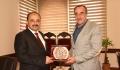 Kastamonuspor Başkanı Rektörümüzü Ziyaret Etti