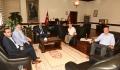 Ak Parti Merkez İlçe Başkanı'ndan Rektörümüze Ziyaret