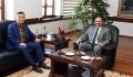 Kırgızistan Cumhuriyeti Ankara Büyükelçisi'nden Rektörümüze Ziyaret