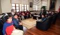 Özel Hazerbey Eğitim Kurumları Röportaj Kulübünden Rektörümüze Ziyaret