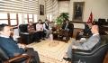 Kırgızistan İktisat ve Girişimcilik Üniversitesi ve Kırgızistan Celalabat Üniversitesi'nden Rektörümüze Ziyaret