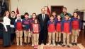 Özel Kastamonu Hazerbey Ortaokulu'ndan Rektörümüze Ziyaret