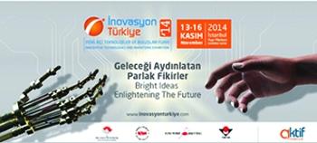 Üniversitemiz Inovasyon Türkiye 2014 Fuarında Temsil Edildi