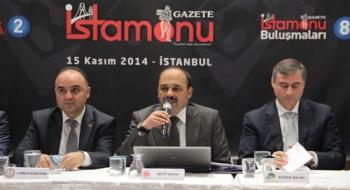 """Rektörümüz, İstanbul'da """"Sanayici Gözüyle Kastamonu"""" Paneline Katıldı"""