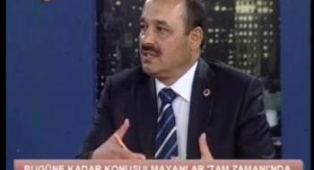 Üniversitemiz Rektörü Prof. Dr. Seyit Aydın Kanal T'ye Canlı Yayın Konuğu Oldu