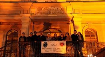 Kastamonu Üniversitesi Sualtı Topluluğu (KÜSAT) Akdeniz'in Maviliklerinde