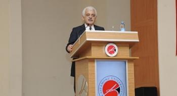 Üniversitemiz, Fikir ve İş Adamı Muammer Cindilli'yi Konuk Etti
