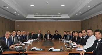 Türk Dünyası Üniversitelerarası Spor Oyunları Heyeti Üniversitemizde