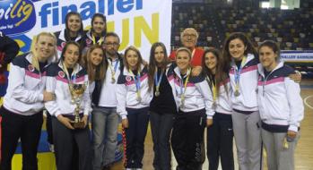 Bayan Hentbol Takımımız ÜNİLİG'de Türkiye 2.si Oldu
