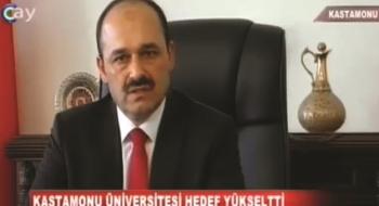 Rektörümüz Aydın Çay TV Ana Haber Bülteninde
