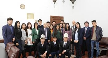 Mevlana Programıyla Üniversitemize Gelen Öğrenciler Sertifikalarını Aldı