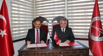 Üniversitemiz, Orman ve Su İşleri Bakanlığı ile Protokol İmzaladı