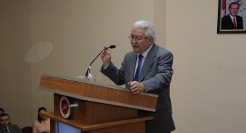 Türkoloji Biliminin Duayenlerinden Prof. Dr. Tuncer Gülensoy Kastamonu Üniversitesi'nde