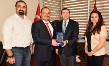 Barutçuoğlu AVM Yönetimi'nden Rektörümüze Ziyaret