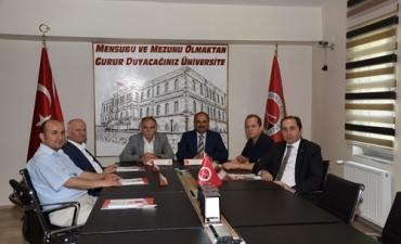 Üniversitemizde Orta Karadeniz Üniversiteleri İş Birliği Toplantısı Yapıldı