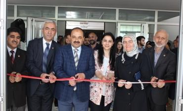 Üniversitemizde Ebru Atölyesi Karma Sergisi Açıldı