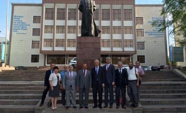 II. Uluslararası Türk Dünyası Turizm Sempozyumu Kazakistan'da Yapıldı
