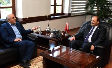 BRTV Yönetim Kurulu Başkan Yardımcısı Üniversitemizi Ziyaret Etti