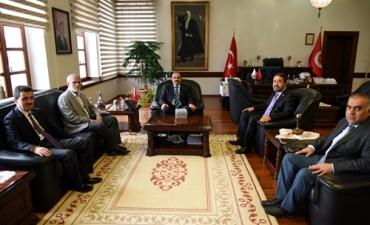 Türkiye Diyanet Vakfı'ndan Rektörümüze Ziyaret