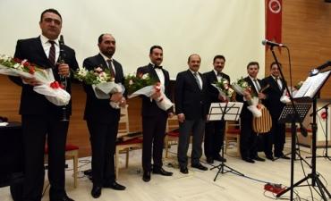 Üniversitemizde Türk Sanat Müziği Solo Konseri Verildi