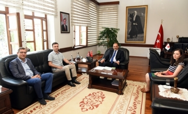 Kuzey Anadolu Kalkınma Ajansı'ndan Rektörümüze Ziyaret