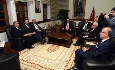 Türkiye Odalar ve Borsalar Birliği Başkanı'ndan Rektörümüze Ziyaret