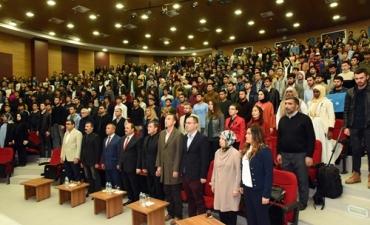 Üniversitemizde Doğu Türkistan'ın Bugünkü Durumu Konferansı Düzenlendi